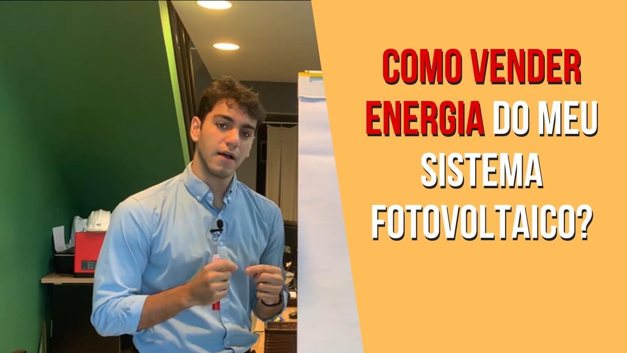 Posso Vender Energia Solar do meu Sistema?