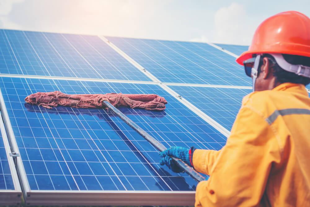 Manutenção do Sistema Solar Fotovoltaico